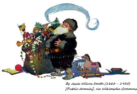jessie wilcox smith santa 4