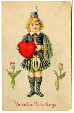 free printable vintage valentine