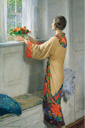 A New Day by Margetson