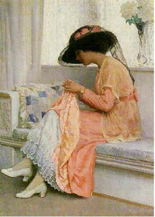 a stitch in time by Margetson