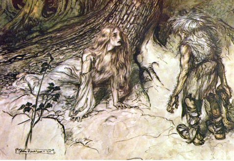 illustration from Das Rheingold