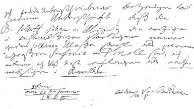 beethoven script