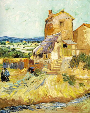 the old mill by van gogh