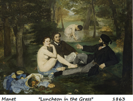 manet luncheon in the grass