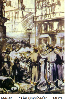 manet the barricade