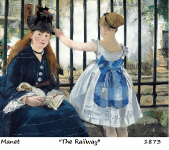 manet the railway