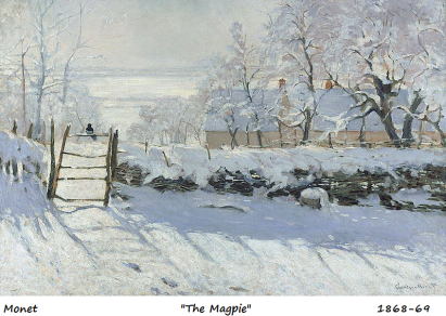 monet the magpie